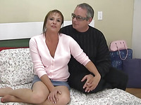Karen and Marty are shooting their first porno for Homegrown! They talk to the shooter about their relationship in advance of getting going.