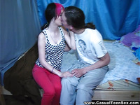 Casual sex with punk-emo teeny