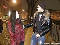 Our skillful legal age teenager hottie does her most good to please her partner