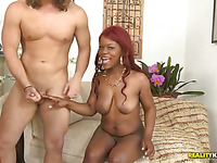 Lots of bright orgasms get delivered to a darksome hawt doxy