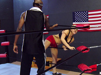 Stupefying angel Dayna Vendetta hardcore on a large fuck stick