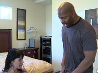 Sexually excited striking Eva Karera sucks hard dink
