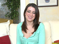 Awesome lady Alexa James getting drilled