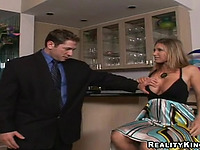 Salacious blond Devon Lee fucking hard