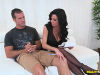 Stranger gets ramrod sucked by pleased Veronica Avluv