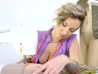 Fleshly beauty Jada Stevens gets fucked