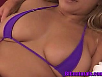 Sultry dark brown playgirl Isabella fingers and blows