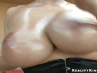 Merciless team fuck for a magnificent brown-haired Gianna Michaels