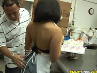 Have fun with insatiable latin brown-haired Fransheliz Vasquez xxx