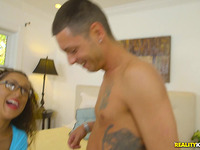 Nasty Alexis Jane gets awarded with sex