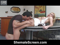 Shayene vehement shemale action