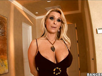 Cute pornstar Holly is having amazing gang bang in the room