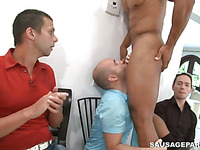 Check out that perverted gay party with twink having fun in a sexual way