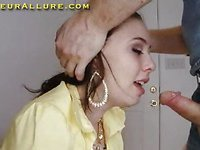 Nubiles First Time On Camera Oral-Service