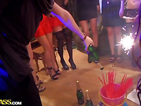 Sexy baths fuck at college sex party