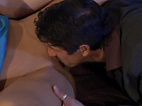 Pretty guy licks, fingers and copulates analhole of the sexy gal