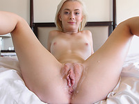 Constricted Blond Bawdy Cleft