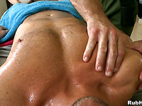 Sensual and hawt massage session for pretty twinks