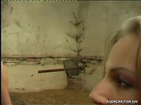 Wicked Francesca Felucci plays with dink