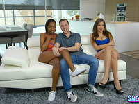 Foxy cutie Cassidy Banks feels shlong in cooter