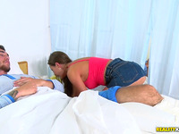 Stupefying girlfriend Tina Kay enjoys sexy games