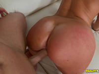 Amazing whore Brittany Shae rides hard